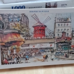Jigsaw 1000 Pcs. ภาพต่อจิ๊กซอว์ รูปภาพวิว น้ำตก ขนาดภาพ 75x50 ซม. No.A9036