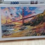 Jigsaw 1000 Pcs. ภาพต่อจิ๊กซอว์ รูปภาพวิว น้ำตก ขนาดภาพ 75x50 ซม. No.A9038