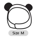 หมวกสุนัข แมวกวัก Size M