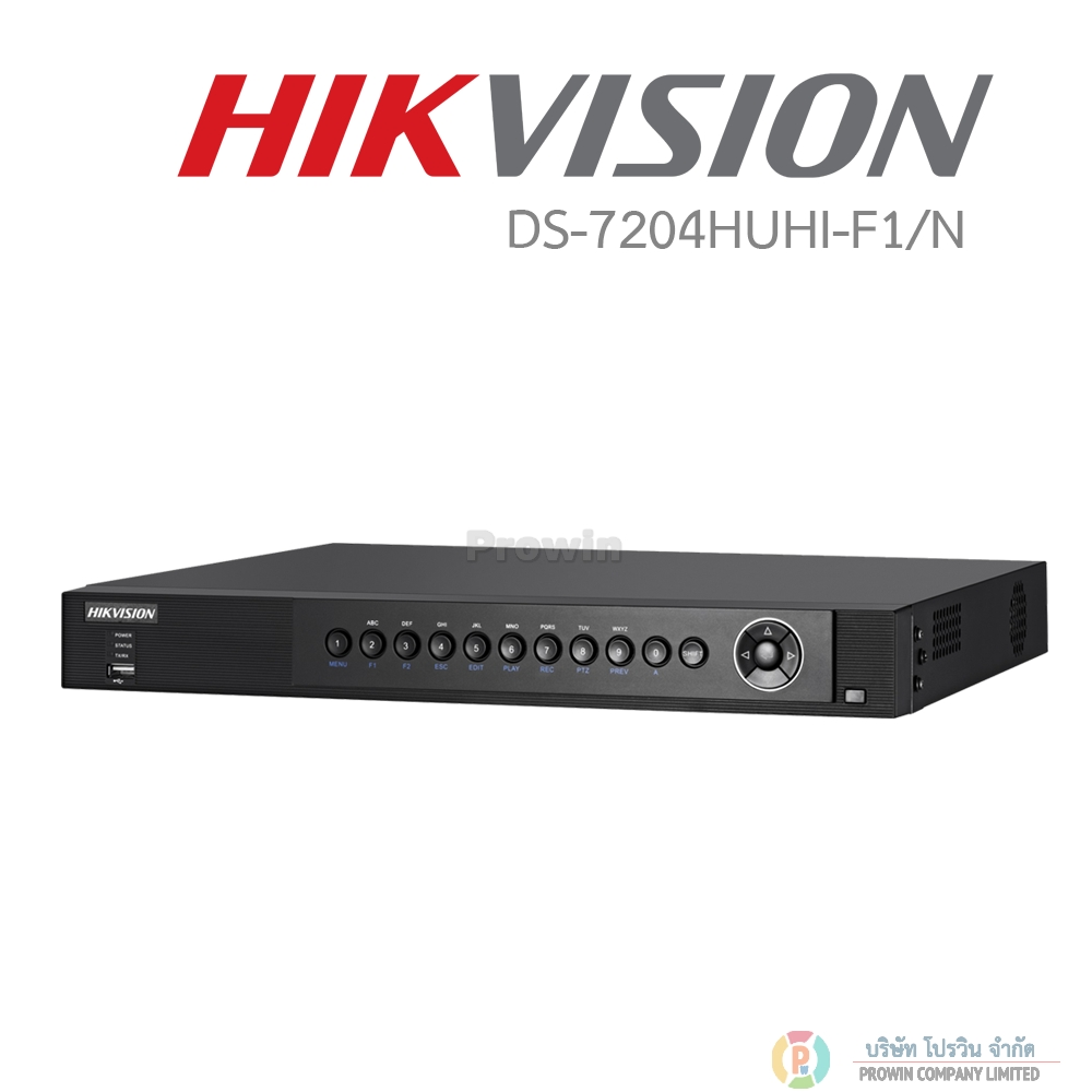 HIKVISION DS-7204HUHI-F1/N (Full HD 3MP )