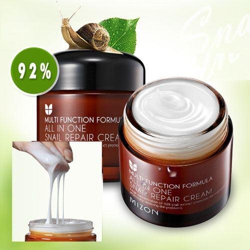 ++พร้อมส่ง++Mizon All in One Snail Repair Cream 75g