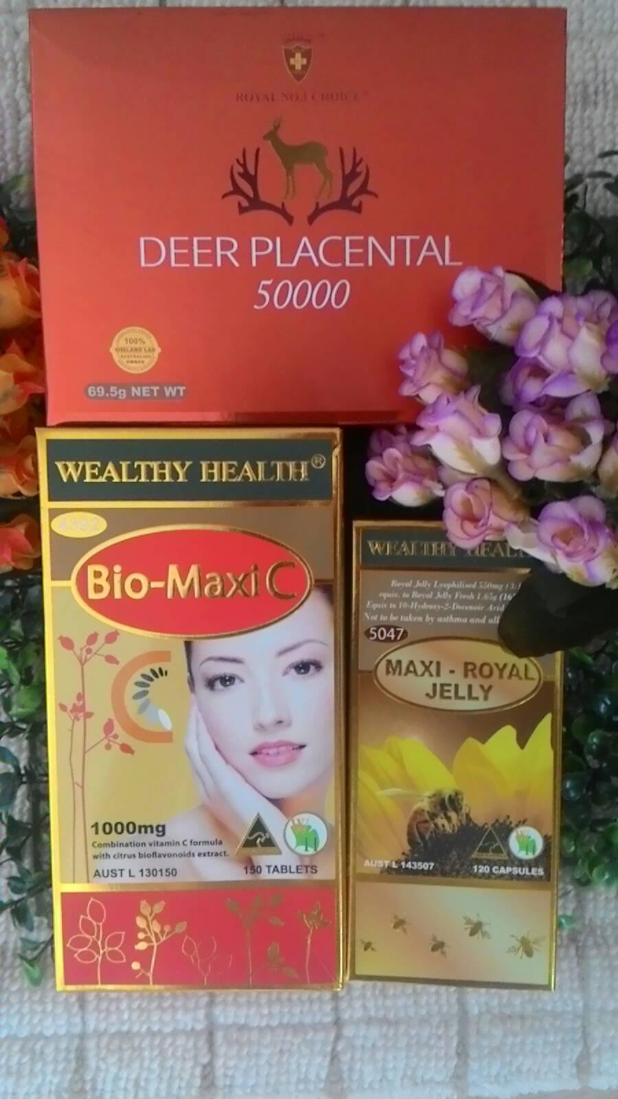 เซ็ทคู่สุดคุ้ม biosis Red Grape Seed 38,000 mg 1ปุก 100 เม็ด+นมผึ้งออสเวย์1,600mg. 1 ปุก 100เม็ด ผิวขาวใส สุขภาพดี