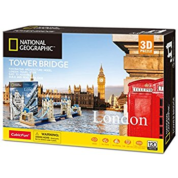 Tower Bridge Size 79.5*17.5*21.5 cm Total 120 pcs.