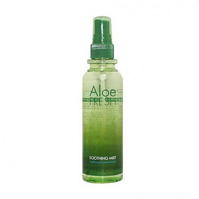 ++พร้อมส่ง++The Face Shop Aloe Fresh Soothing Mist 130ml