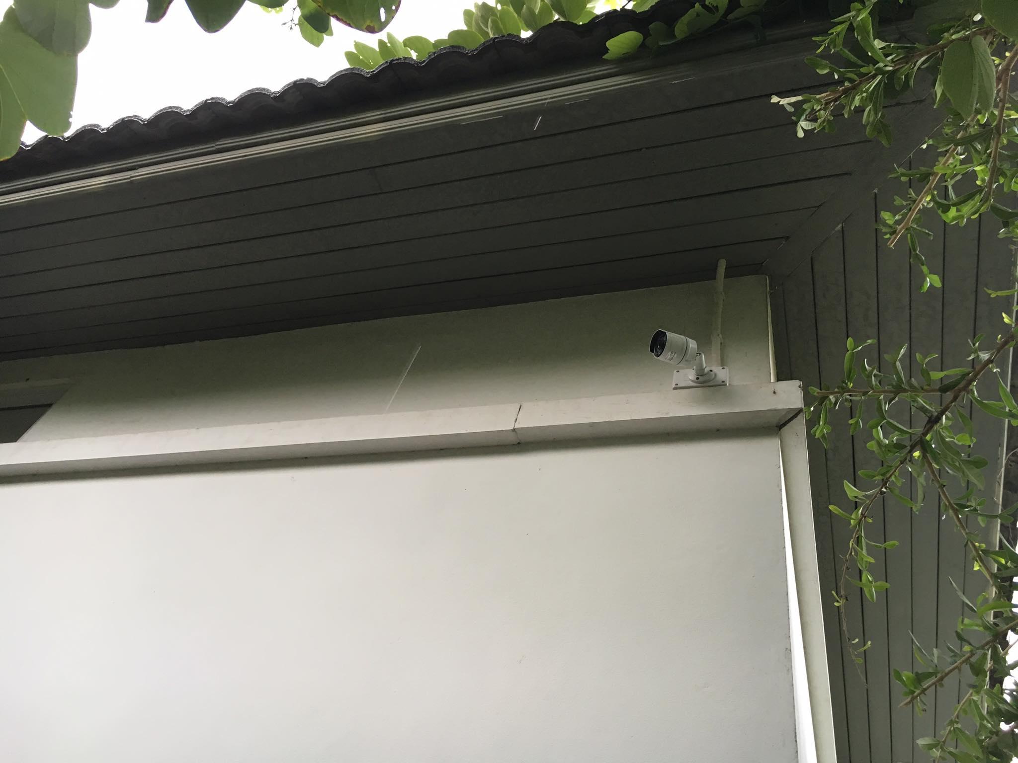 ติดตั้งกล้องวงจรปิด บ้านเดี่ยว ย่านวัชรพล