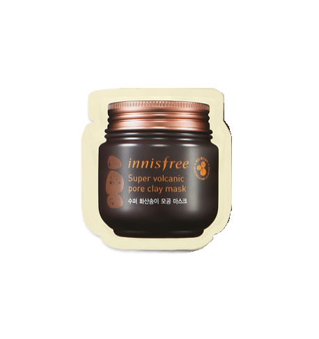 ++พร้อมส่ง++Innisfree Super Volcanic Pore Clay Mask 4ml