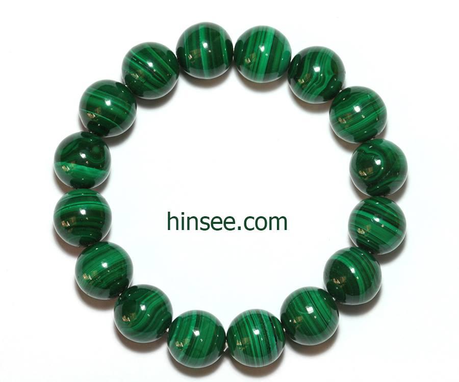 ข้อมือมาลาไคท์ Malachite bracelet