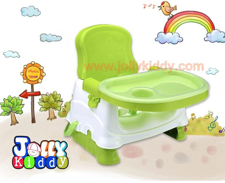 เก้าอี้เนั่งกินข้าวเด็กแบบพกพา C10150(สีเขียว)