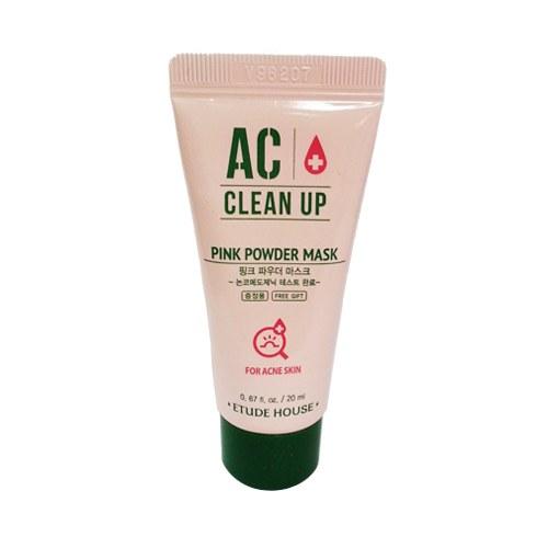 ++พร้อมส่ง++Etude House AC Clean Up Pink Powder Mask 20ml