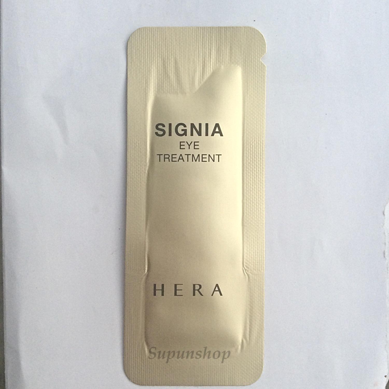 ++พร้อมส่ง++Hera Signia Eye Treatment 1ml sample ช่วยลดเลือนริ้วรอย ลดความหมองคล้ำ ผิวรอบดวงตา ดูกระชับ อ่อนเยาว์