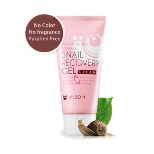 ++พร้อมส่ง++Mizon Snail Recovery Gel Cream 45ml ครีมบำรุงเนื้อเจล ช่วยเพิ่มคอลลาเจน ลดเลือนริ้วรอย เพิ่มความยืดหยุ่น ชุ่มชื้น ผิวดูอวบอิ่มมีน้ำมีนวล เหมือนผิวเด็ก