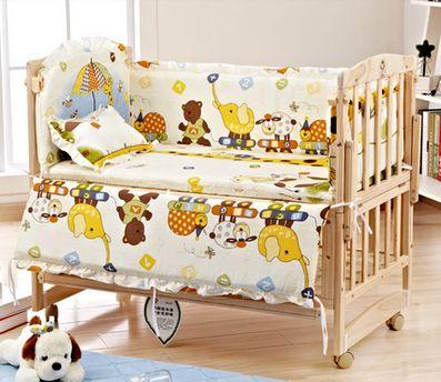 B10108 เตียงนอนไม้สำหรับเด็ก สามารถปรับเป็นโต๊ะเฟอร์นิเจอร์ได้ เบาะลายสวนสัตว์