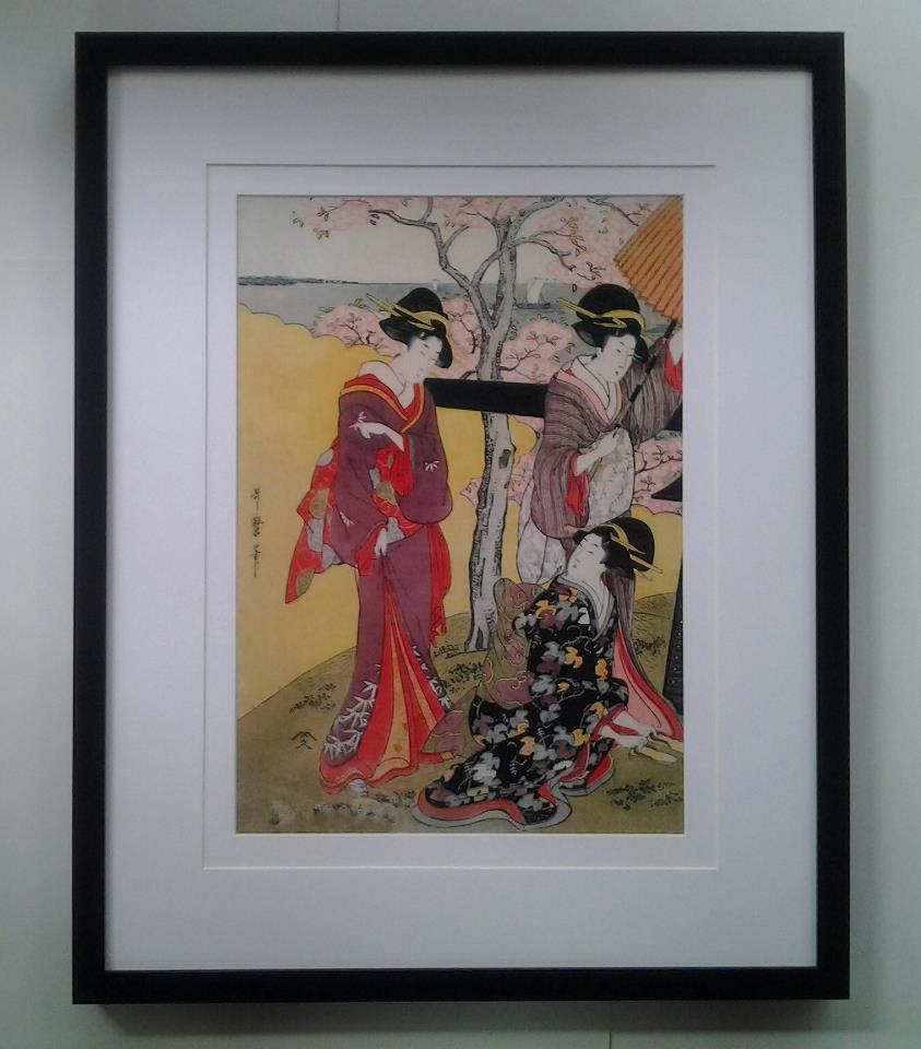 กรอบและภาพญี่ปุ่นโบราณ C (โทรสอบถามราคา)