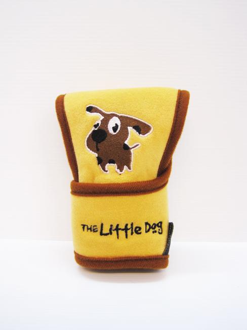 หุ้มหัวเกียร์ Little Dog ออโต้ (น้ำตาล)