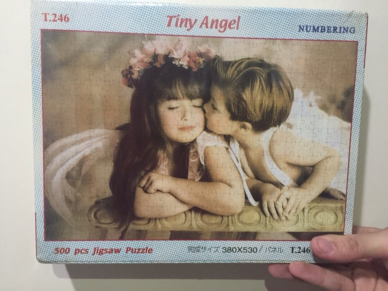 Cute 500 Pcs. Jigsaw Puzzle Size 380*350 mm.
