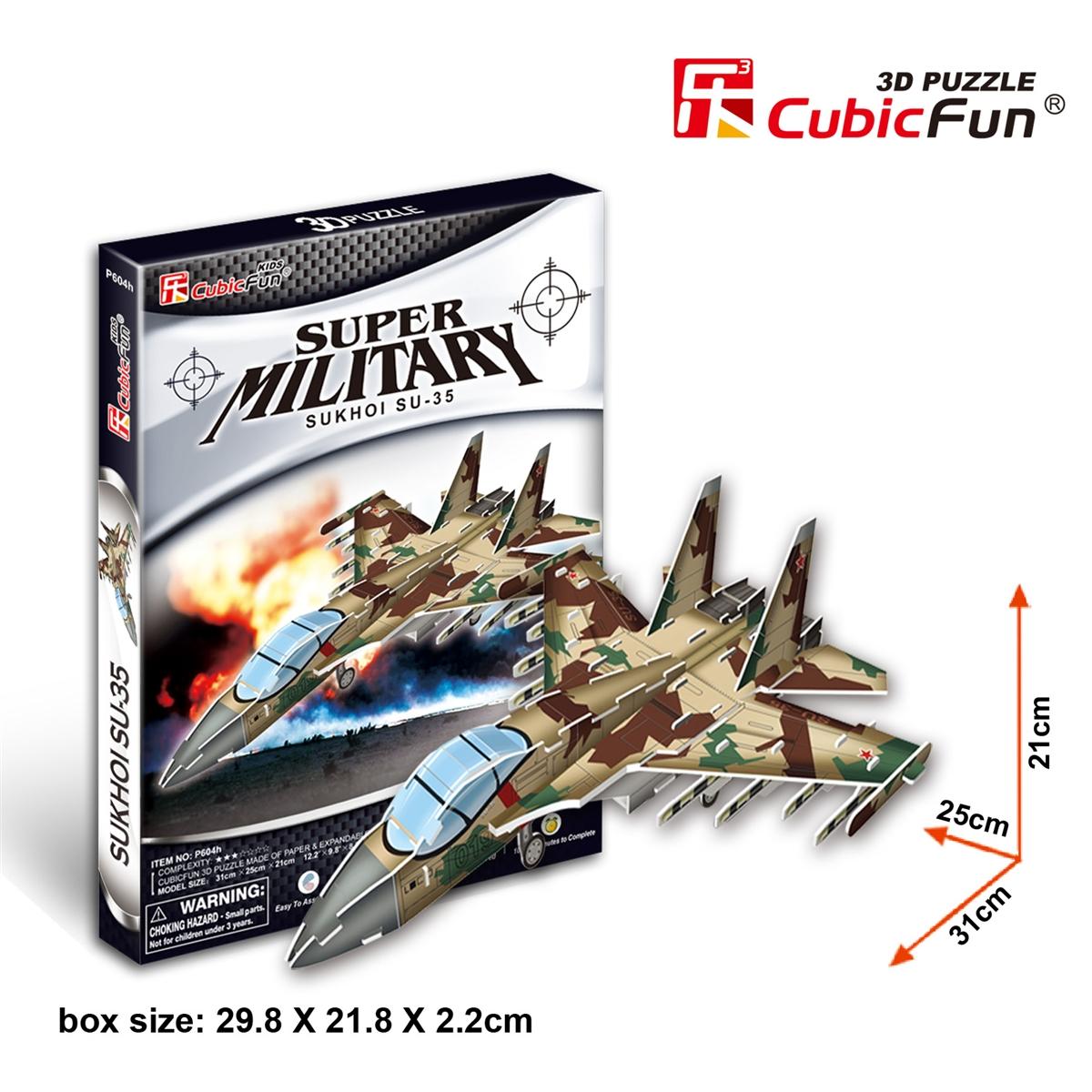 Sukhoi Su-35 Size 31*25*21 cm Total 35 pcs.
