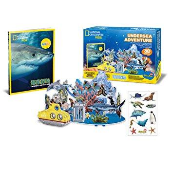Undersea Adventure Size 39*33*17.6 cm Total 63 pcs.