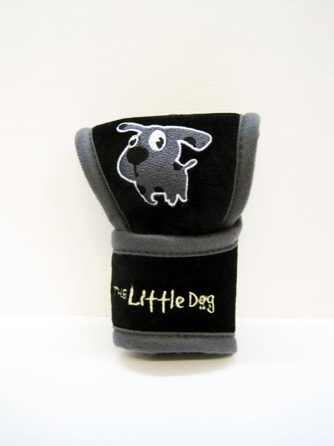 หุ้มหัวเกียร์ Little Dog ออโต้ (ดำ)