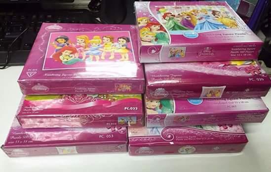 รีวิว ภาพจิ๊กซอว์ จากลูกค้า ที่น่ารักค่ะ 10กล่อง คละแบบ