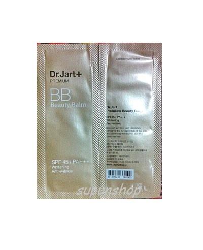 ++พร้อมส่ง++Dr.Jart+ Premium Beauty Balm (SPF45/PA+++) Sample 1ml บีบีครีมที่รวมทั้ง ไพรเมอร์ ครีมบำรุง ครีมกันแดด เซรั่ม ในหนึ่งเดียว เหมาะกับทุกสีผิว