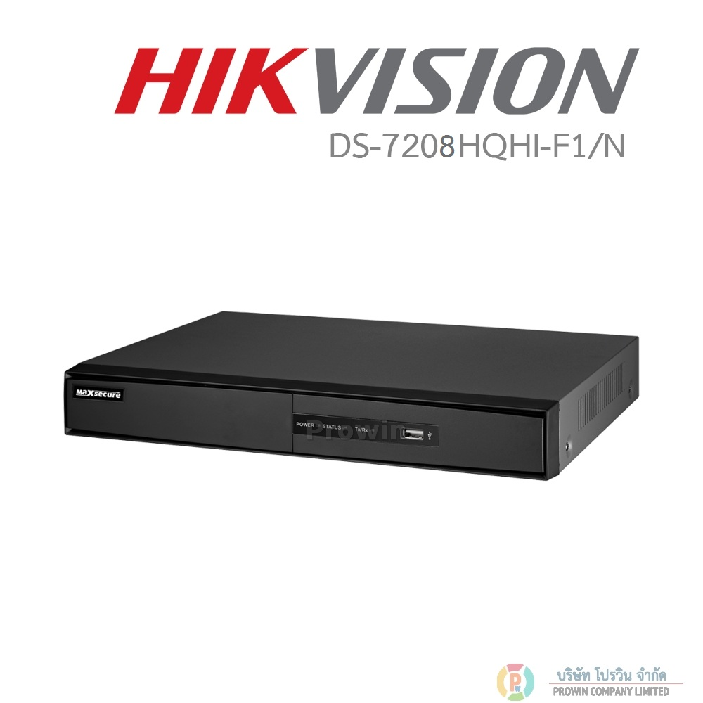 HIKVISION DS-7208HQHI-SH (Full HD 8CH) TURBO HD DVR