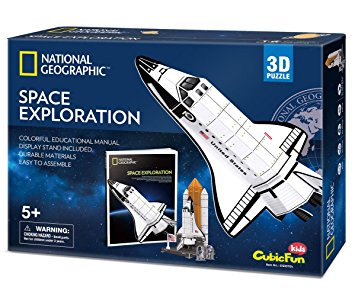 Space Exploration Size 25*22.3*46.7 cm Total 65 pcs.