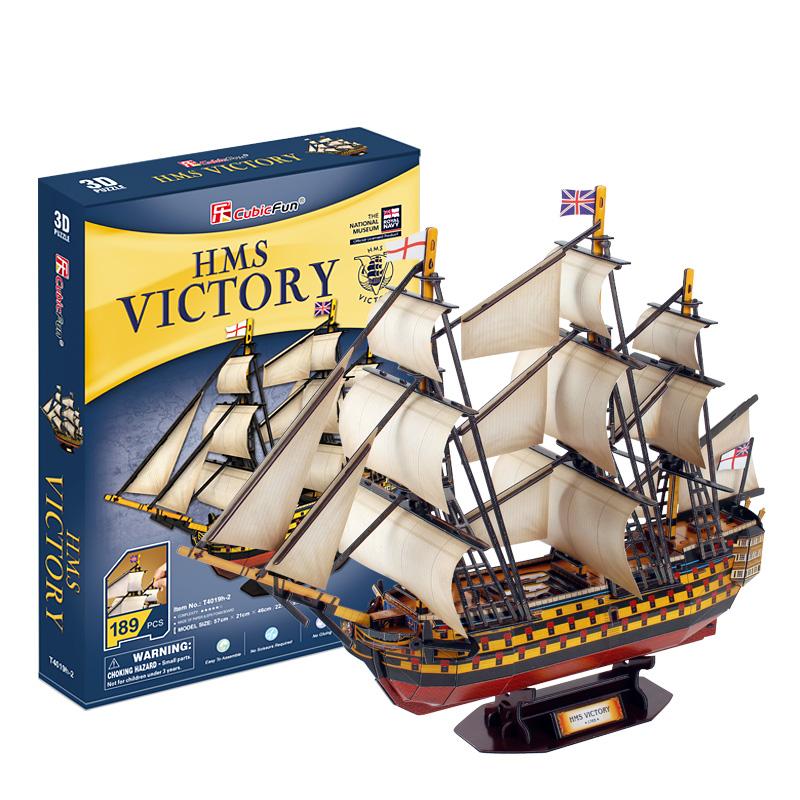 HMS Victory Size 57*21*46 cm. Total 189 pcs