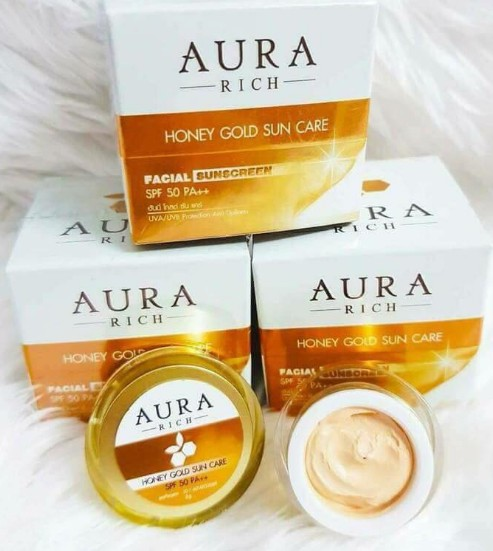 Aura Rich Honey gold Sun Care SPF50PA+++