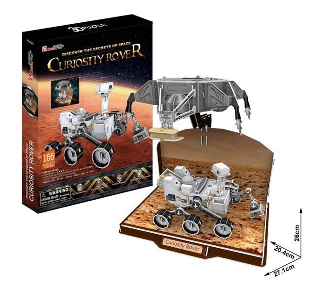 Curiosity Rover Size 27.1*20.4*26 cm Total 166 Pieces