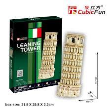 Pisa Tower หอเอนปิซ่า Total: 13 pcs Model Size: 10*10*26 cm.
