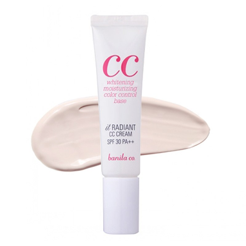 ++พร้อมส่ง++ BANILA CO IT RADIANT CC CREAM SPF30/PA++ 30ml