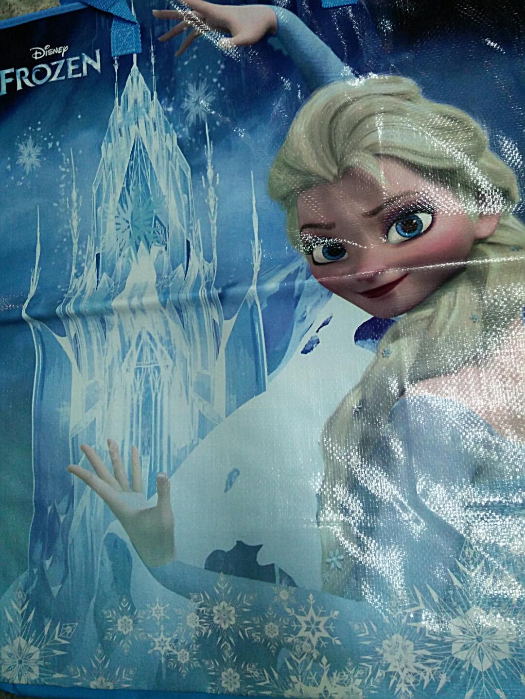 Shopping Bag กระเป๋าสปันบอลลายการ์ตูนดิสนีย์ Frozen