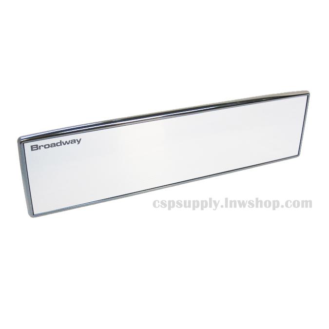 กระจกมองหลังตัดแสง Broadway BW-544 (ขอบโลหะชุบโครเมี่ยมดำ) (ญี่ปุ่น) *หมด*