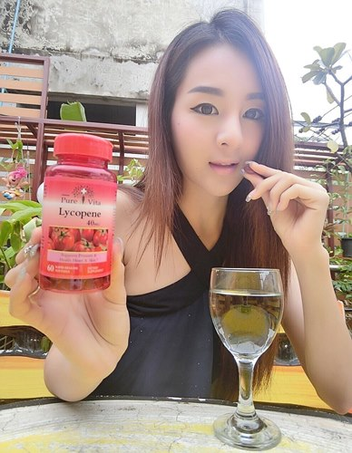 Pure Vita Lycopene 40 mg ขนาด 60 เม็ด ไลโคปีน สารสกัดมะเขือเทศเข้มข้น จากแคนนาดา