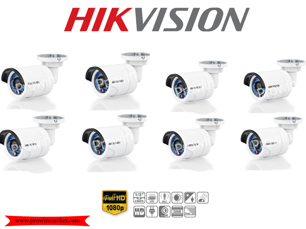 HIKVISION (( Camera Pack 8 )) DS-2CE16D0T-IR (HD 1080P)