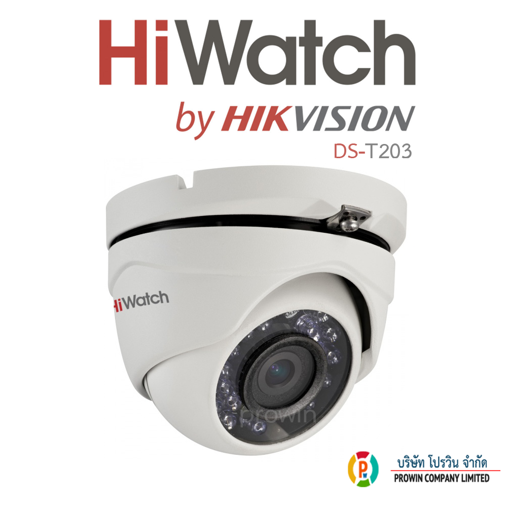 HiWatch DS-T203(3.6mm)