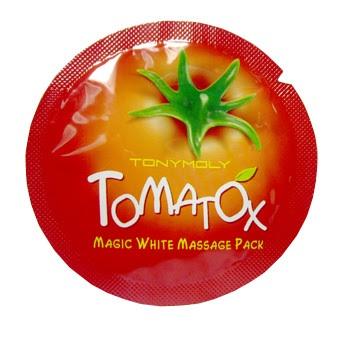 ++พร้อมส่ง++Tony Moly Tomatox Magic Massage Pack sample 2ml 10ชิ้น
