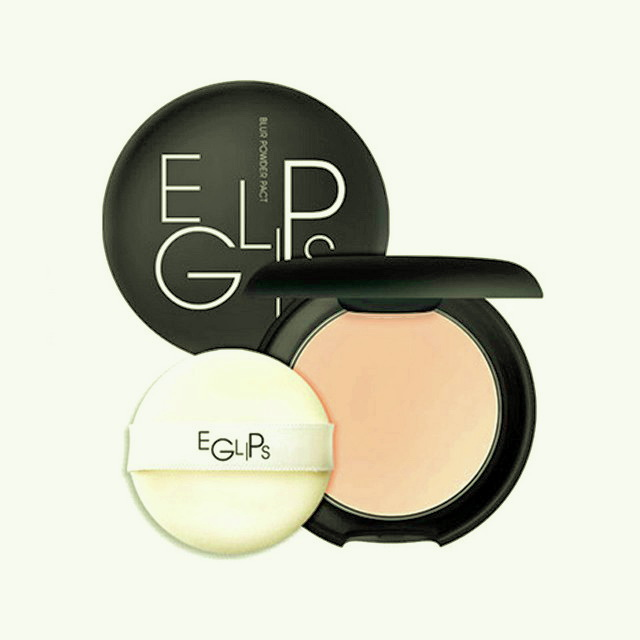 ++พร้อมส่ง++Eglips Blur Powder Pact 9g เบอร์ 21 ตลับสีดำ