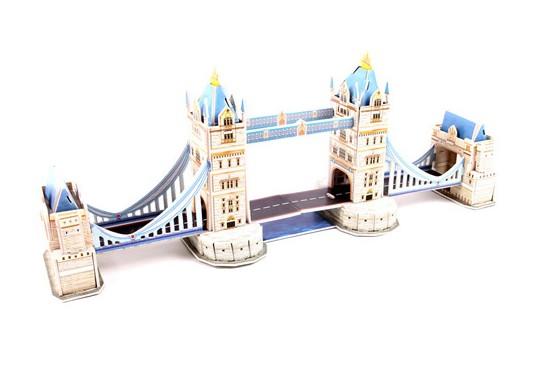 London Bridge สะพานลอนดอน โมเดล 3มิติ จีิ๊กซอร์ 3มิติ ชุดตัวต่อกระดาษโฟม