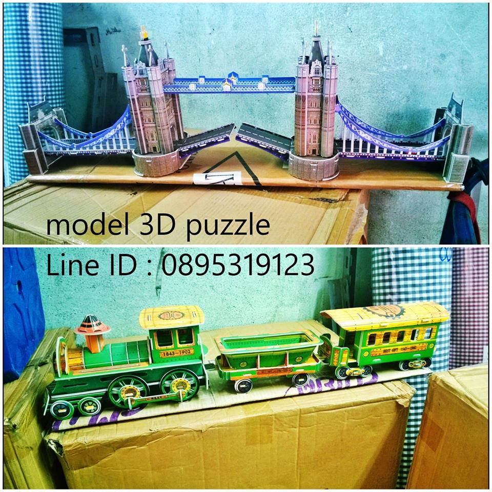 Big Model 3D Puzzle