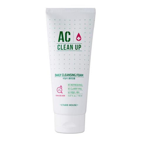 ++พร้อมส่ง++Etude House AC Clean Up Daily Cleansing Foam 150ml