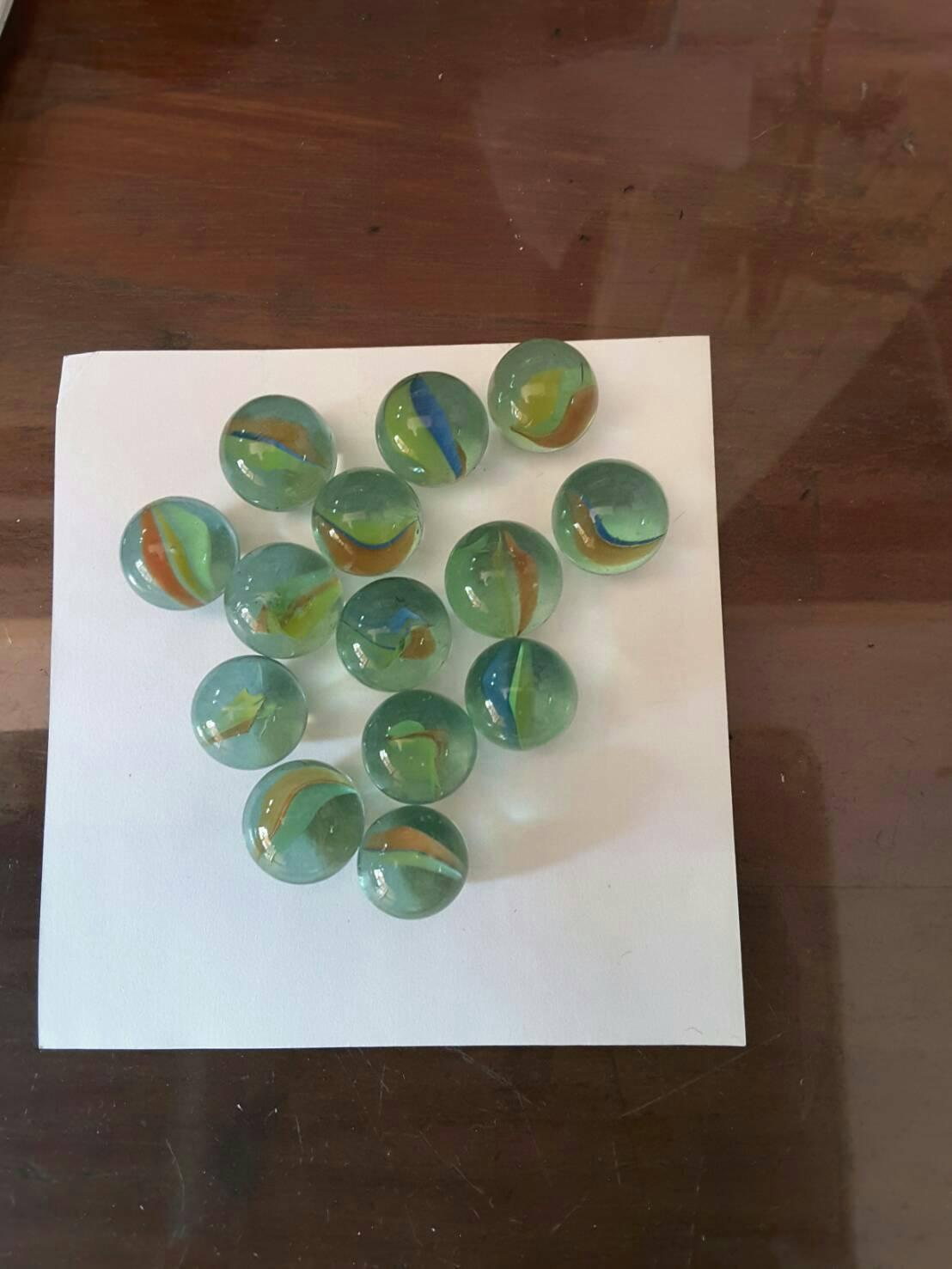 ลูกแก้วใส ขนาด 1.6 มล. แบ่งขาย 100 ลูก Glass Marbles