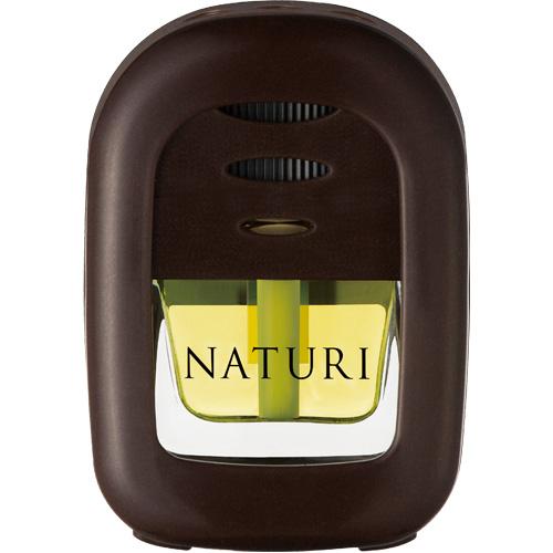 น้ำหอมปรับอากาศติดรถยนต์ แบบเสียบช่องแอร์ จากญี่ปุ่น CARALL 'NATURI' (กลิ่น Lavender & Orange)