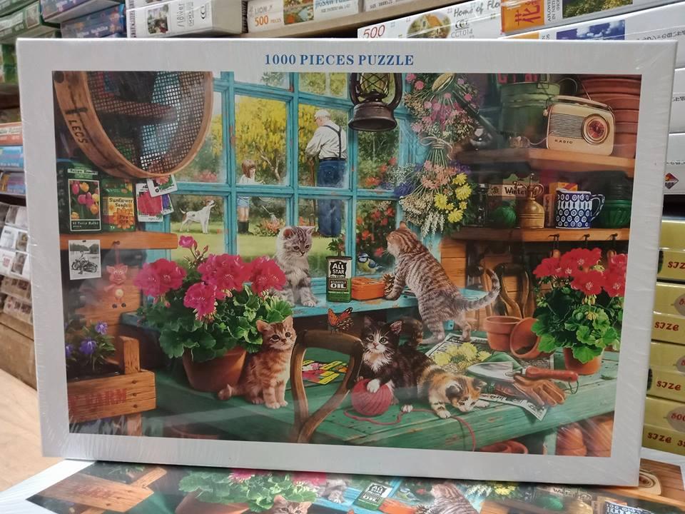 Jigsaw 1000 Pcs. ภาพต่อจิ๊กซอว์ รูปภาพวิว น้ำตก ขนาดภาพ 75x50 ซม. No.A9040