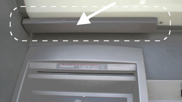ซ่องกล้องแอบถ่ายรหัสบัตรบัตเครดิต ATM