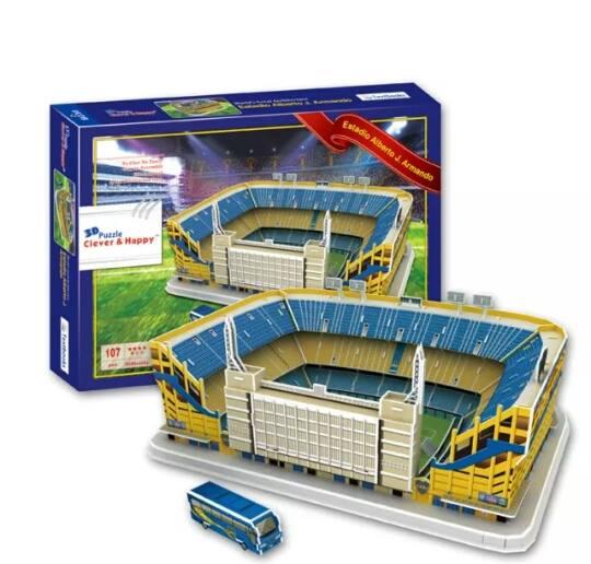 Estadio Alberto J. Armando เอสตาดิโอ อัลเบอร์โต เจย์. อาร์มานโด (โบคา จูเนียร์ส)