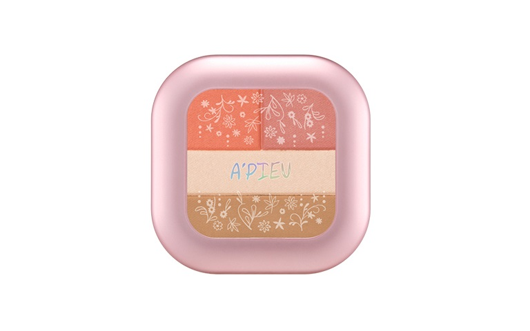 ++Pre order++ A'PIEU Self Styling Multi Blusher(no.5 primly sunny rose)