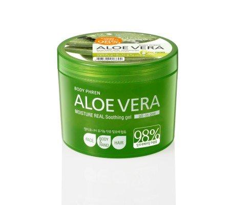++พร้อมส่ง++Welcos Body Phren Aloe Vera Moisture Real Soothing Gel 98% 500ml