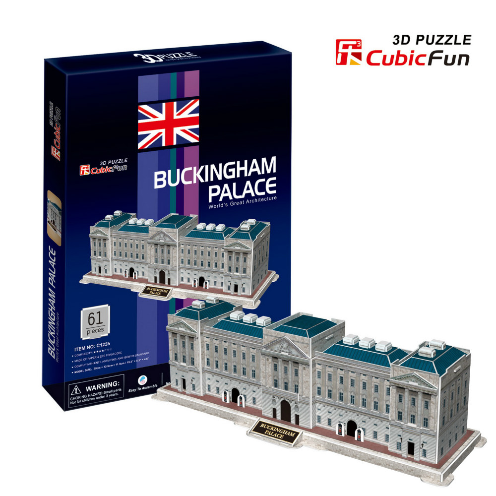 CubicFun 3D Puzzle Buckingham Palace พระราชวังบักกิงแฮม จิ๊กซอว์ 3 มิติ