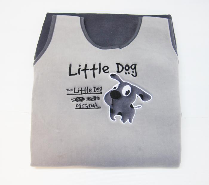 หุ้มเบาะ Little Dog (เทาอ่อน)